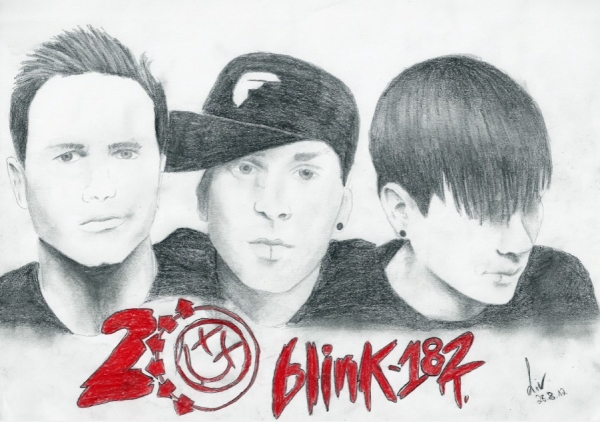 Blink-182 by LivSays